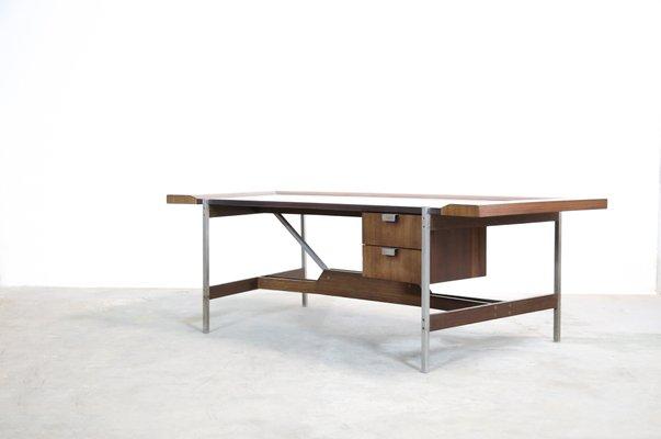 Ufficio Scrivania In Inglese : Scrivania da ufficio vintage modernista in palissandro in vendita su
