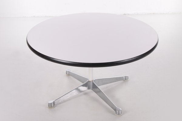 Mid Century Coffee Table Or Side, Herman Miller Eames Coffee Table Round