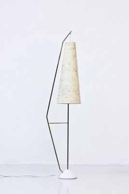 Verwonderend Scandinavian Aluminium and Brass Floor Lamp, 1950s for sale at Pamono CV-21