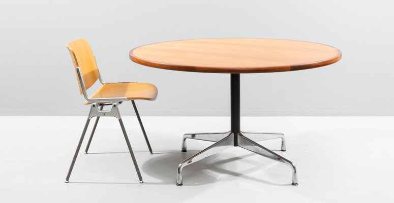 Mahogany Dining Table By Charles Ray, Herman Miller Dining Room Chairs