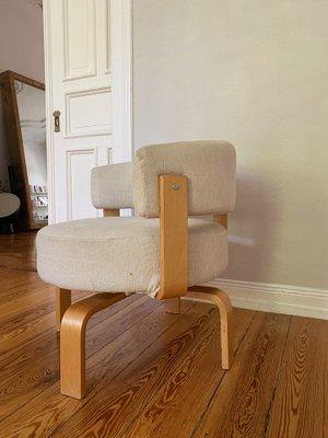 Vintage Swivel Armchair Fridene By, Ikea Chairs Living Room