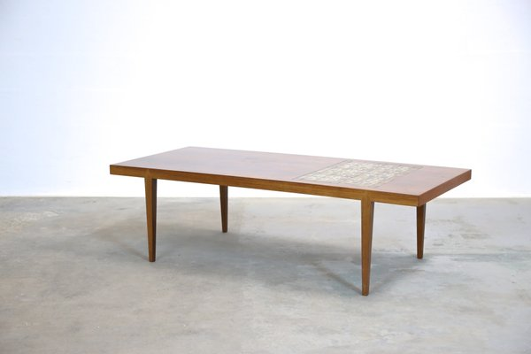 Large Mid-Century Ceramic Inlay Coffee Table by Severin Hansen for ...