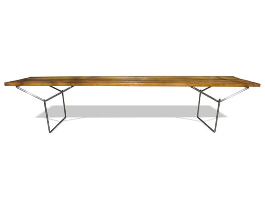 Oak Bench By Harry Bertoia For Knoll For Sale At Pamono - Bertoia coffee table