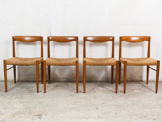 Teak U0026 Rosewood Dining Chairs By H.W. Klein For Bramin, 1960s, ...