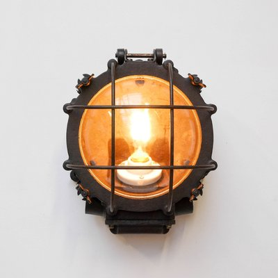 Vintage industrial wall light for sale at pamono vintage industrial wall light 3 aloadofball Choice Image