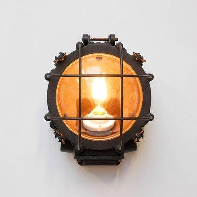 industrial wall lights. Vintage Industrial Wall Light 3 Lights