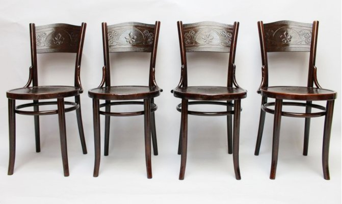 Beech Wood Chair from Thonet-Mundus & Beech Wood Chair from Thonet-Mundus for sale at Pamono