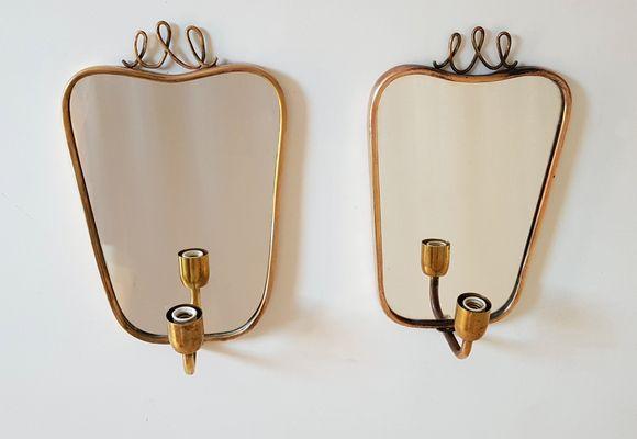 Applique mid century moderne set di in vendita su pamono