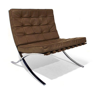 Barcelona Easy Chair By Ludwig Mies Van Der Rohe 1930s For At Pamono