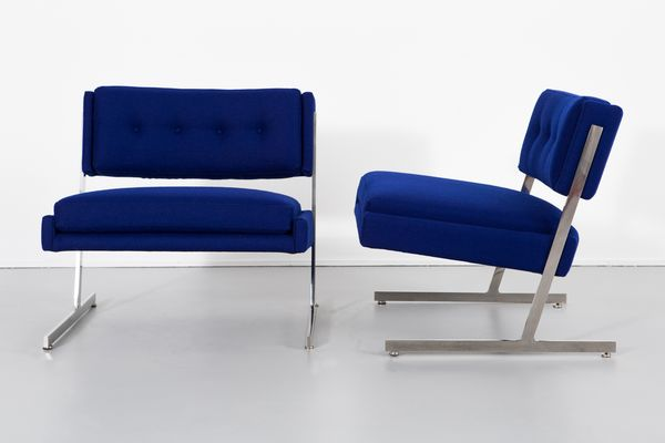 Stupendous Lounge Chairs By Harvey Probber 1960S Set Of 2 Gmtry Best Dining Table And Chair Ideas Images Gmtryco