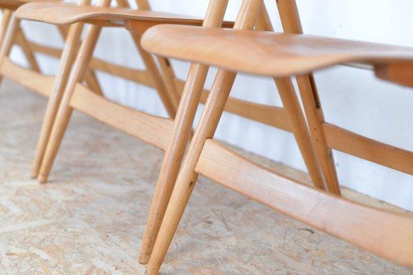Vintage SE18 Folding Chair By Egon Eiermann For Wilde U0026 Spieth 3