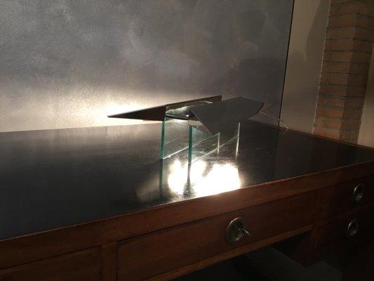 Gae Aulentiamp; Castiglioni1988 Pietra Bureau Lampe Par De Piero VpGUzMLqS