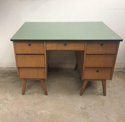 vintage belgian writing desk - Writing Desks For Sale