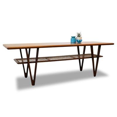 Mid Century Modern Danish Teak Coffee Table 1950s For Sale At Pamono