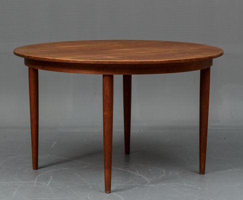 Danish Teak Dining Table With 4 Chairs From Vejle Stole Og Mobelfabrik 1960s 2