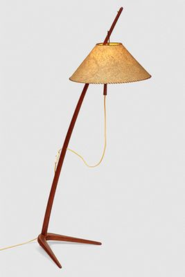 Vintage floor lamp by j t kalmar for sale at pamono vintage floor lamp by j t kalmar 1 aloadofball Choice Image