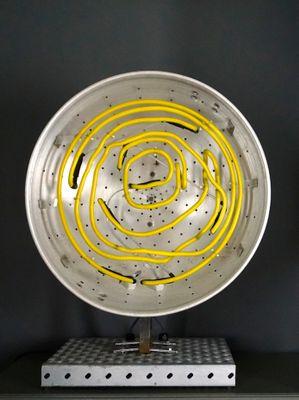 Lampada Da Tavolo Al Neon Prototipo Di Chris Bracey 2010 In Vendita