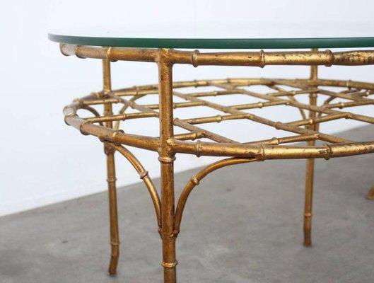 Sedie E Tavoli Vintage.Sedia E Tavolo Vintage In Faux Bamboo Francia In Vendita Su Pamono