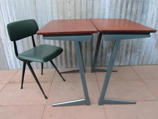 school desk for sale inkwell industrial school desks from pagholz set of for sale at pamono