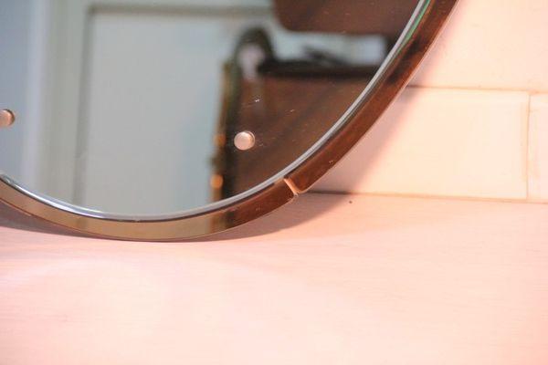Mid century spiegel von cristal art 1950er bei pamono kaufen