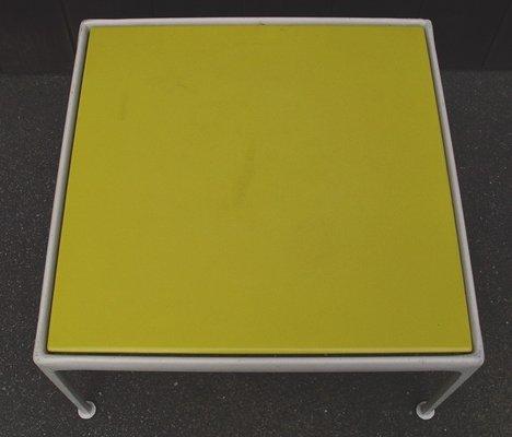 Table Basse Jaune Par Richard Schultz 1966
