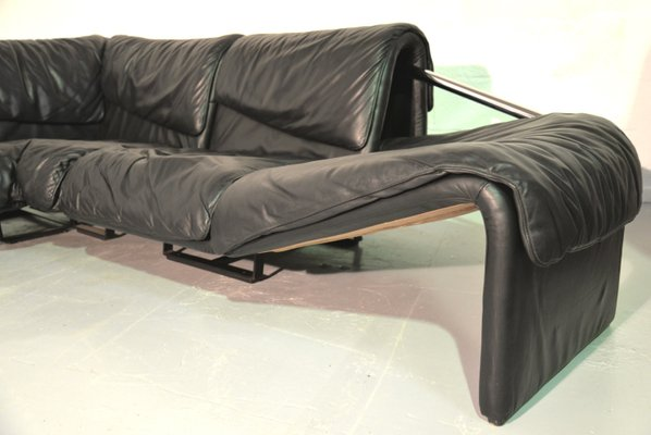 Inmotion Leather Corner Sofa from de Sede, 1970s