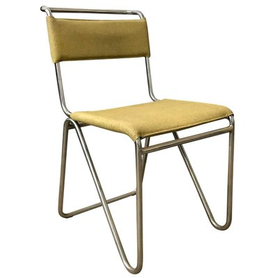 Strange Yellow Faux Leather 102 Diagonal Chair From Gispen 1927 Gmtry Best Dining Table And Chair Ideas Images Gmtryco