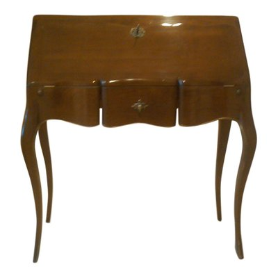 Vintage French Desk with Folding Top, 1950s 2 - Vintage French Desk With Folding Top, 1950s For Sale At Pamono