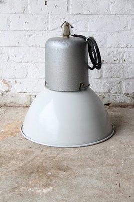 Lampe Industrielle En Email Et Lampe D Usine En Aluminium En Vente