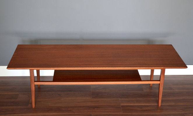 Danish TwoTier Coffee Table S For Sale At Pamono - Two level coffee table