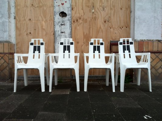 Boston Garden Chairs by Pierre Paulin for Herny Massonnet / STAMP ...