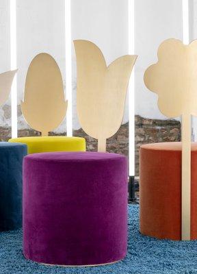 Lily Pouf von Artefatto Design Studio für Secolo