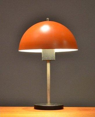 Vintage Orange Table Lamp for sale at