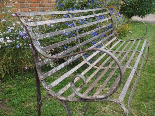 Antique Wrought Iron 4 Seater Garden