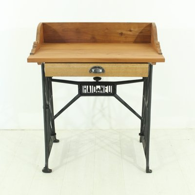 Vintage cherrywood sewing table 1930s for sale at pamono vintage cherrywood sewing table 1930s 2 watchthetrailerfo