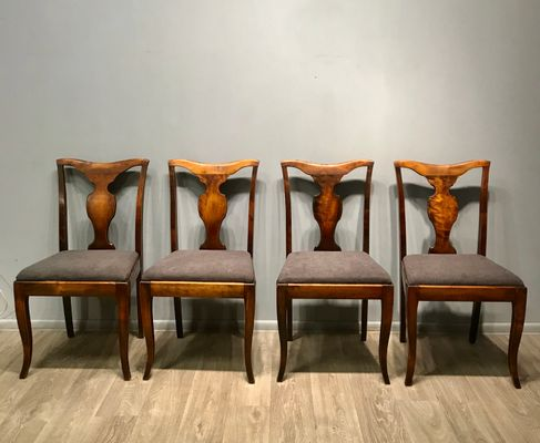Antique Dining Chairs Set Of 4 For