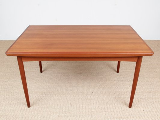 Scandinavian Teak Dining Table From Dyrlund 1950s For Sale At Pamono