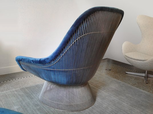 Vintage Easy Chair U0026 Ottoman By Warren Platner For Knoll International 2