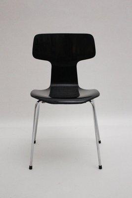 Fabbrica Sedie Plastica Impilabili.Sedie Impilabili 3101 Di Arne Jacobsen Per Fritz Hansen In Vendita