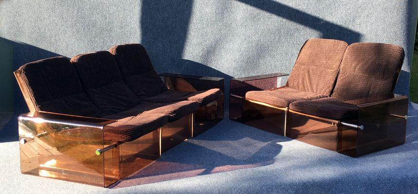 Vintage 2 Und 3 Sitzer Sofas 2er Set Bei Pamono Kaufen