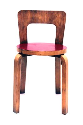 Vintage Model 65 Chair By Alvar Aalto For Artek 1