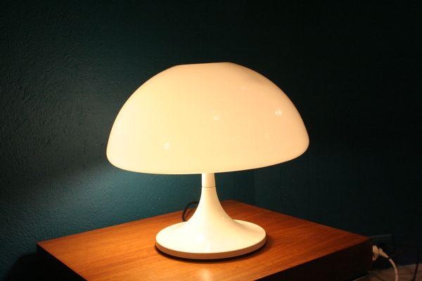 Guzzini1970s Par Bureau Toledo Lampe Massoni De Luigi Pour LUVzqMpSG