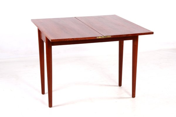 Danish Teak Foldable Game Table 8