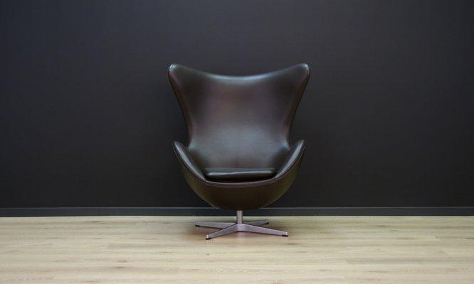 Modell 3316 Sessel In Ei Optik Von Arne Jacobsen Für Fritz Hansen