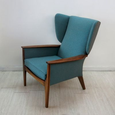 Wingback Chair From Parker Knoll, 1960s 6