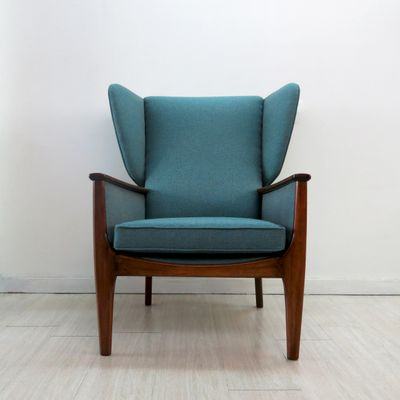 Beau Wingback Chair From Parker Knoll, 1960s