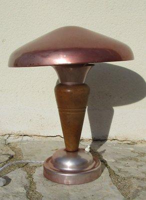 Merveilleux Lampe Champignon Vintage, 1929 3