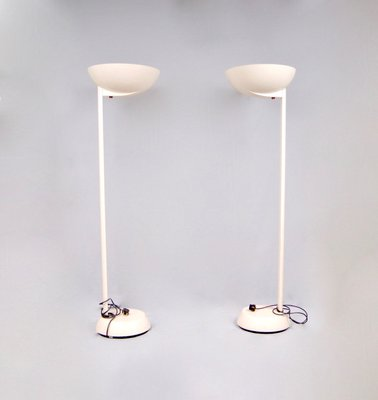 Fiberglass And Plastic Uplighter Floor Lamps From Thorn Lighting Company 1960s Set Of 2 For Sale At Pamono