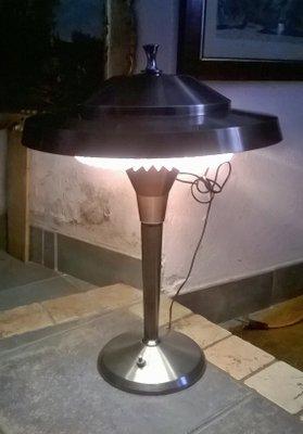 Lampada Da Tavolo In Alluminio Di Artemide, Italia, 1950, Immagine 7