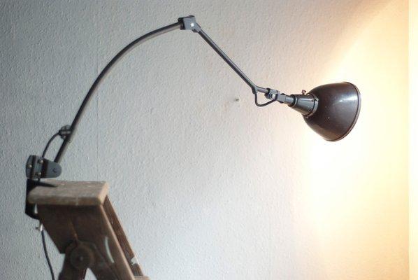 Vintage modell midgard 114 schreibtischlampe von curt fischer für